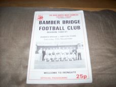 Bamber Bridge v Ashton Town, 1990/91